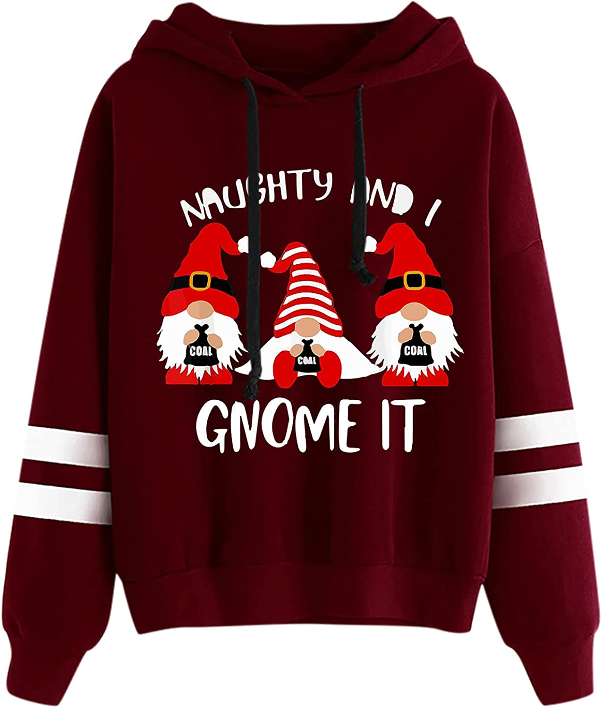 Hemlock Teen Girls Cute Hoodies 5 popular A surprise price is realized Pu Print Shirts Hooded Christmas