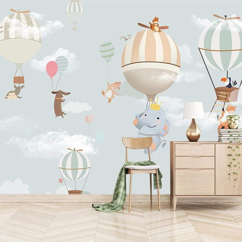 XIAOHUKK Ranking TOP20 3D self-Adhesive Quantity limited Wallpaper Elephant Ball Cartoon Animal