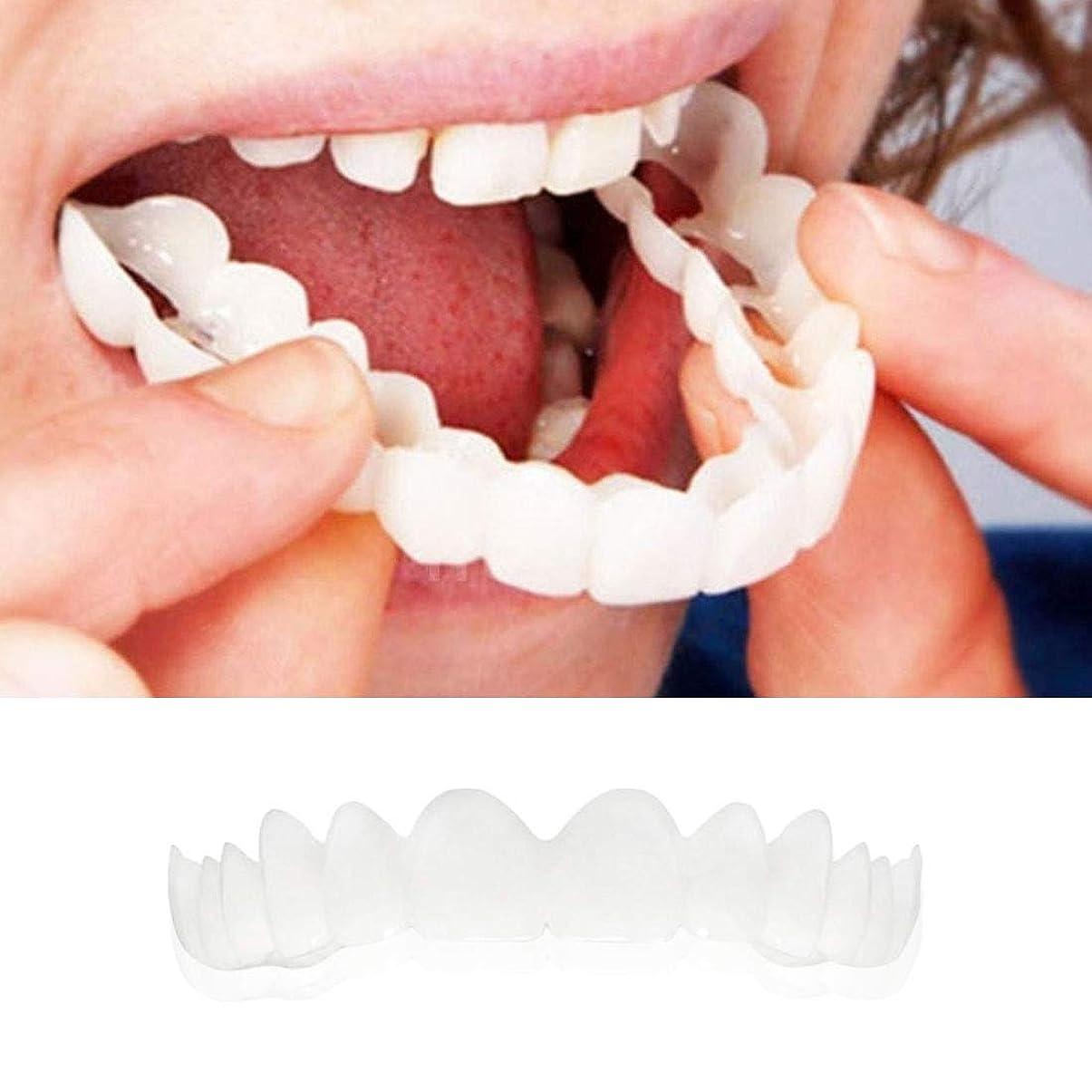 フィルタチョップかき混ぜる上段 ホワイト義歯 快適な 義歯ケア 模造 義歯