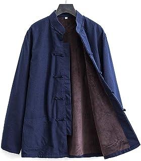 Plus polar Tang Suit Tai Chi mundurek mężczyźni chińskie tradycyjne ubrania Kung Fu Wing Chun ubrania, czysta bawełna dług...