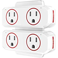 2-Pack HoMii Wifi Outlet Dual Socket Smart Plug