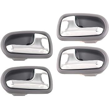 Amazon Com Dorman 93850 Interior Door Handle For Select Mazda Models Beige And Chrome Automotive
