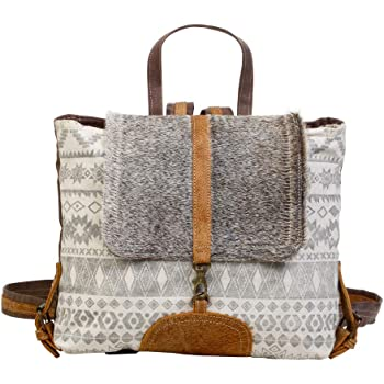 Amazon Com Myra Bag Virtuoso Upcycled Canvas Cowhide Leather Backpack S 1277 Clothing The nomatic backpack is versatile & made for you to use every day. myra bag virtuoso upcycled canvas cowhide leather backpack s 1277