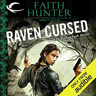 Raven Cursed     Jane Yellowrock, Book 4              Written by:                                                                                                                                 Faith Hunter                               Narrated by:                                                                                                                                 Khristine Hvam                      Length: 15 hrs and 9 mins     5 ratings     Overall 4.8