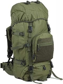 60L Rucksack Men and Women Outdoor Waterproof Mountaineering Bag Shoulder Travel Backpack, Multi-Color Optional JKMQA (Color : E)
