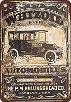 警告メタルノベルティサインアルミニウム1917自動車用オイル鉄の絵ティンサインヴィンテージの壁の装飾カフェバーパブホームビール装飾工芸品レトロビンテージサイン
