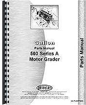New Galion 503A Motor Grader Parts Manual