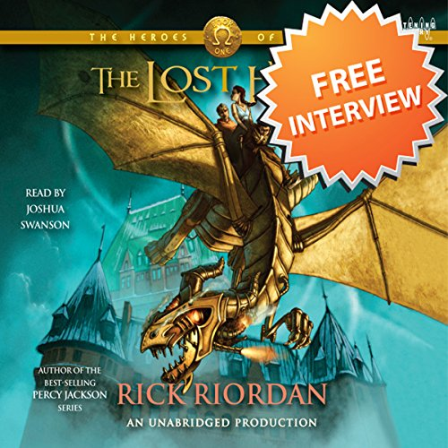 An Interview with Rick Riordan audiobook cover art