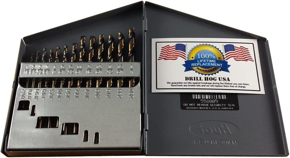 "Drill Hog® Step Drill Bit 1//8/""~7//8/"" M7 UniBit Steps HI-Molybdenum M7 Warranty"