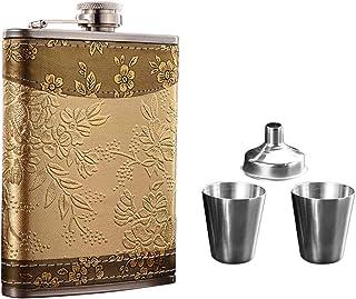 Angolo del regalo Fiaschetta a Whisky in Acciaio incisa di Un Testo