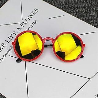 SHDSHD - SHDSHD Gafas de Sol Reflectantes para niños Gafas de Sol de Color Lindo para bebés Gafas de Sol para niños Streetwear Gafas de Juguete para niños Gafas Lindas