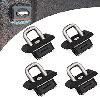 Riwful 4pcs Inner Bed Retractable Tie Down Anchors Fit for 07-20 Chevy Silverado GMC Sierra 15-20 Chevy Colorado and GMC C...