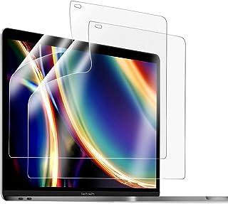 【2020 M1チップ搭載モデル向けの最新改良版】AMOVO MacBook Air 13 / MacBook Pro 13 用 フィルム 反射低減 ブルーライトカット 目に優しい 指紋対策 紫外線カット エアーレス キズ防止 クリア 極薄型 ...