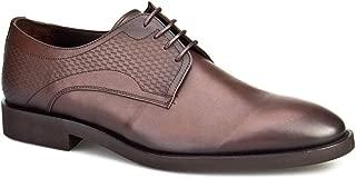 Cabani Bağcıklı Klasik Erkek Ayakkabı Kahve Analin Deri