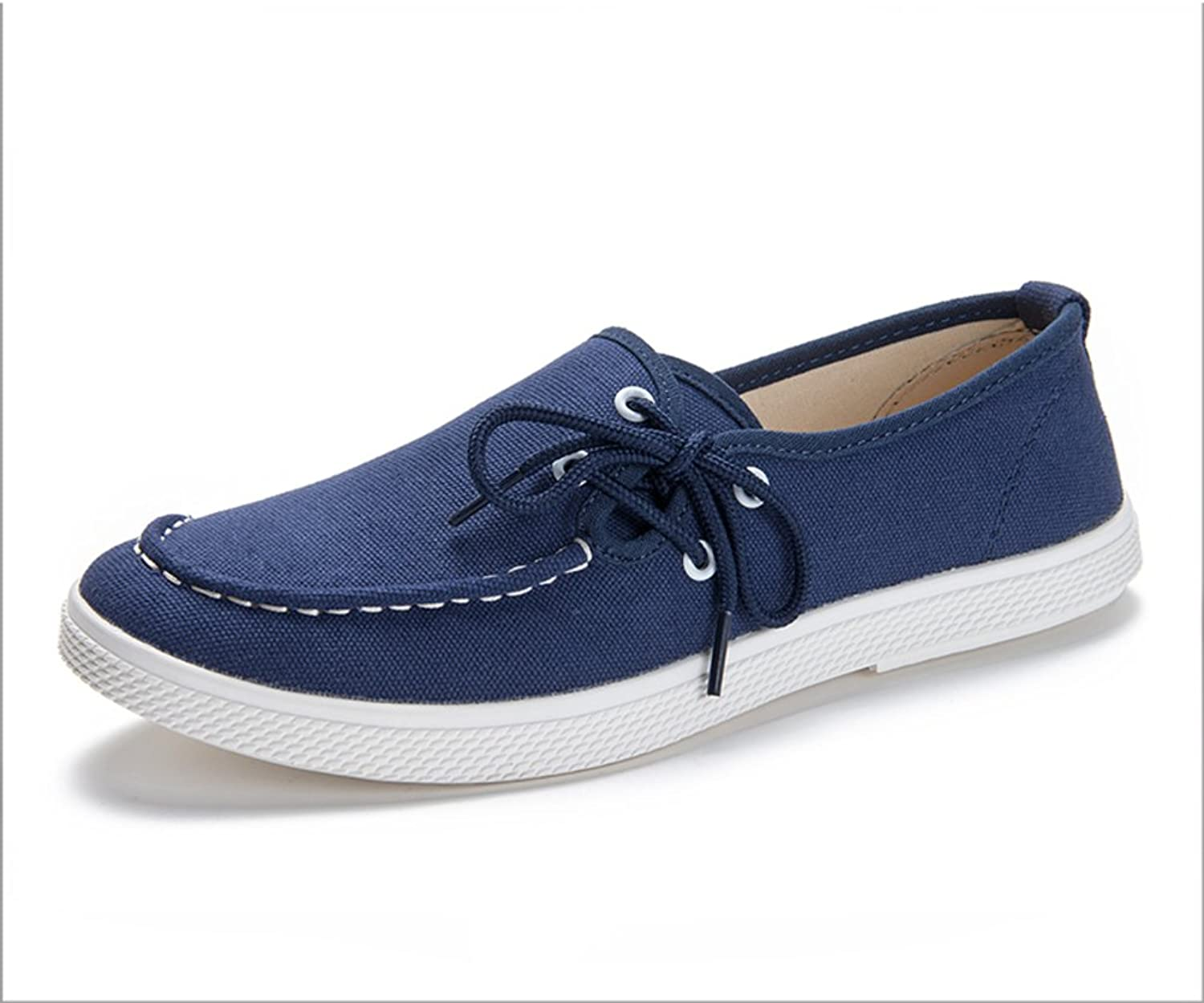 WLJSLLZYQ Mens Canvas shoes Young Students of Mens shoes shoes Breathable Casual shoes Men shoes