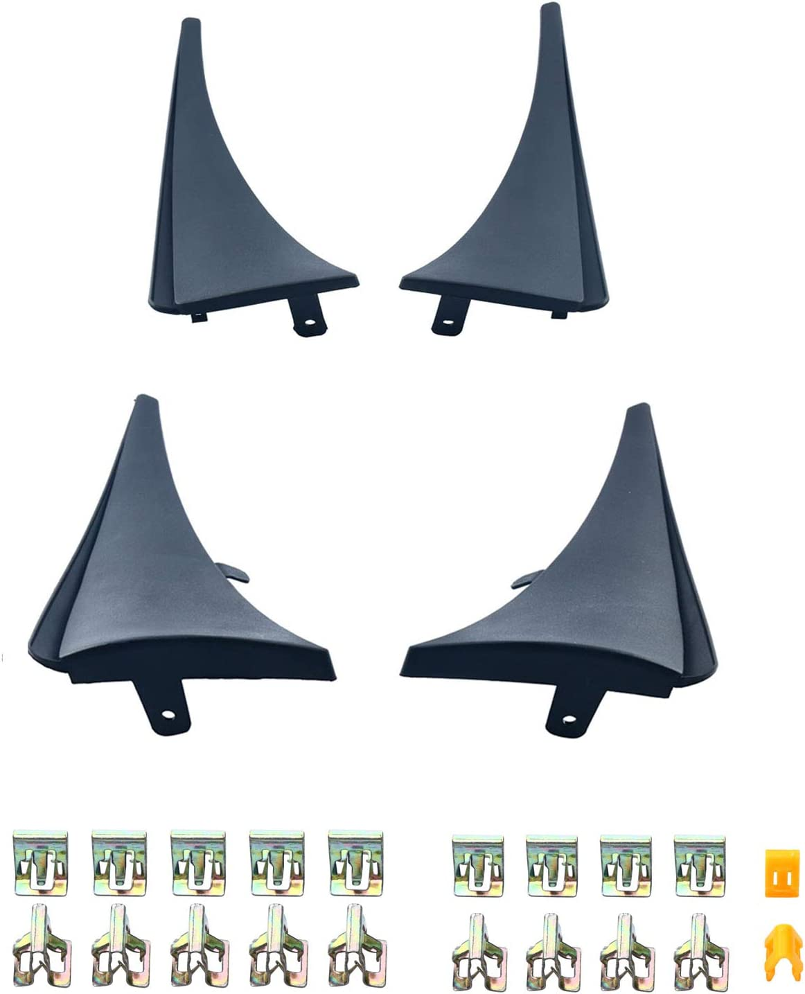 8MILELAKE Splash NEW Guards Mud Flaps and Front New mail order for Compatible Rear