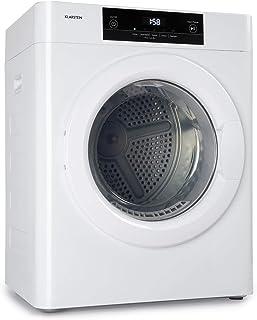 Klarstein Ultradry Wäschetrockner, Ablufttrockner, Frontlader, 1250 Watt, Heizleistung: 1100 Watt, freistehend/unterbaufähig, EEK C, IPX4, 3 kg, Kindersicherung, 5 Programme, Timer, weiß