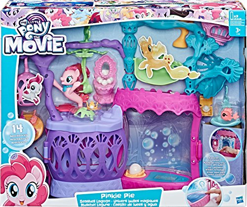 My Little Pony My Little Pony-C1058 Juego Luces y Agua, Multicolor, Miscelanea (Hasbro C1058EU4)