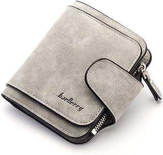 Baellirry Wallet Woman Card Holder Clutch Casual Grey