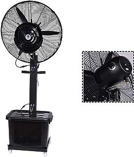 Jyfsa Ventilador de fábrica Ventilador Ventilador Industrial, Arriba Abajo Refrigeración Humidificador del Piso Izquierda Derecha Ventilador de Aire frío Ventilador eléctrico Ventilador de Niebla
