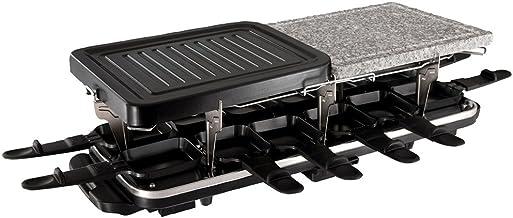 Russell hobbs - 19560-56 - raclette, grill, pierre à griller multifonctions 3 en 1 - 12 personnes