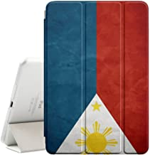 Graphic4You Vintage Filipino Flag of Philippines Design Ultra Slim Case Smart Cover Stand [with Sleep / Wake Function] for Apple iPad Mini 4