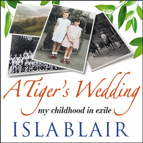 A Tiger's Wedding audiobook cover art