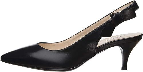 Nero giardini scarpe sling-back donna pelle E012000DE 100
