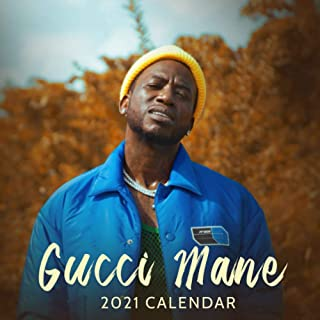 Gucci Mane 2021 Calendar: Monthly Calendar 2021 with Gucci Mane, 8.5