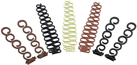 Hair Braiding Tool,French Centipede Braiders,Hair Styling Tool Kit, Magic Hair Twist Styling Accessories(7 Pairs) …