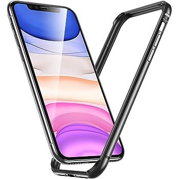 Cover iPhone XR Protezione Alluminio Contorno Morbido Silicone - Rosa