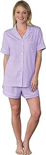 PajamaGram Womens Pajamas Soft Cotton - Pajama Shorts for Women