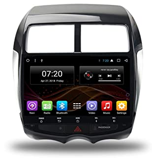 Forever 10 Pulgadas Android 7.1/8.1 2 DIN Car no DVD Multimedia for Mitsubishi ASX RVR 2010 + Outlander Sport Octa Core Car Radio GPS navegación estéreo Audio navi Video