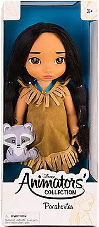 Disney Princess Animators' Collection Toddler Doll 16'' H  Pocahontas with Plush Friend Meeko