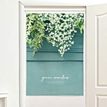 SANGSANGHOO Green Wonder Nature Doorway Curtain 33.5x47 in Vine Garden Wall Hanging for Living Room Home Decor