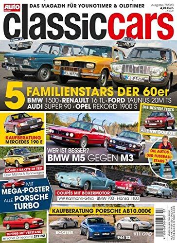 Auto Zeitung Classic Cars 7/2020