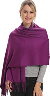 deep purple shawl