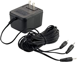 Department 56 Accessories for Village Collections AC/DC Power Adapter, 3.15 Inch, Black