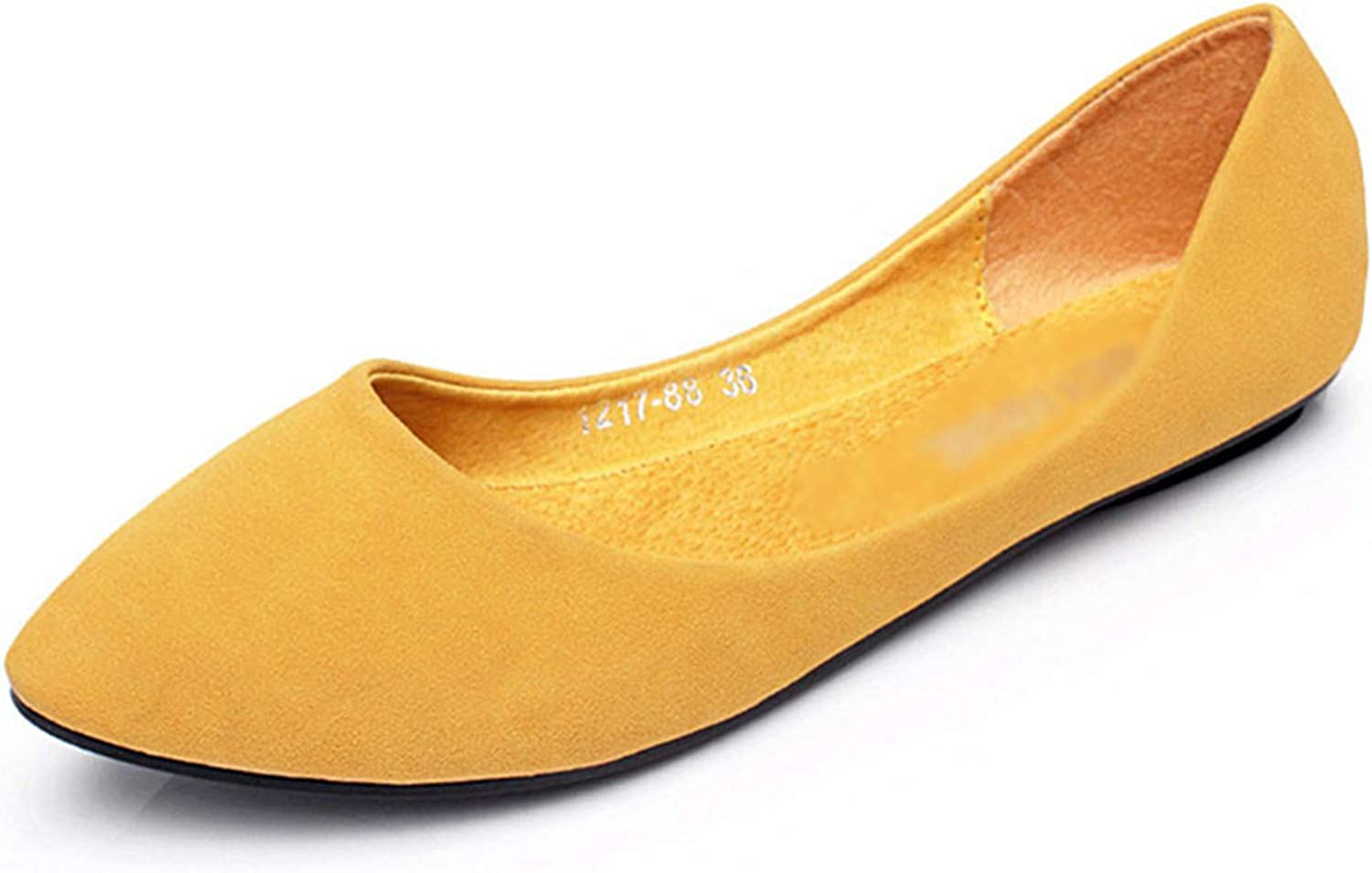 Kyle Walsh Pa Women Flats shoes Slip-on Pointed Toe Female Casual Soft Walking Driving Footwear