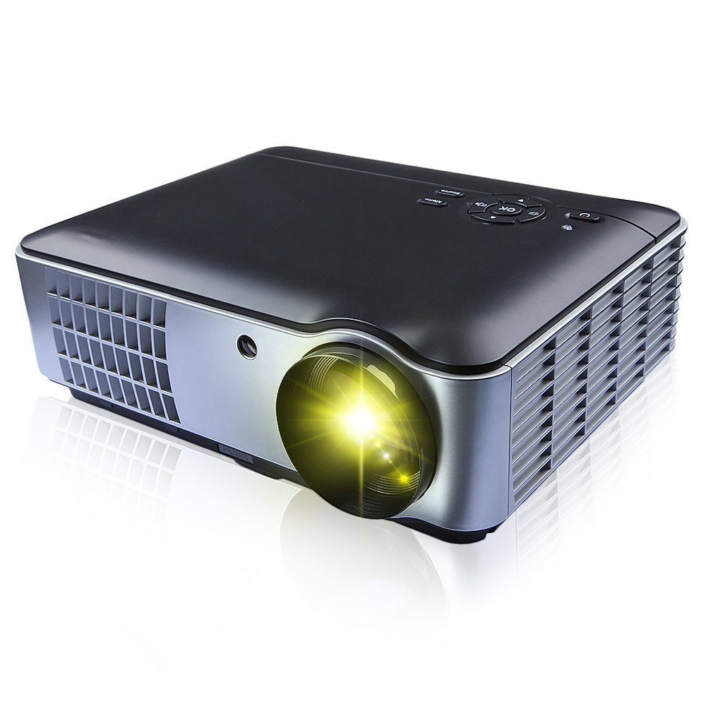 Gamut-Tek 806 Proyector de cine casero portable con HDMI y * 2 * 2 ...