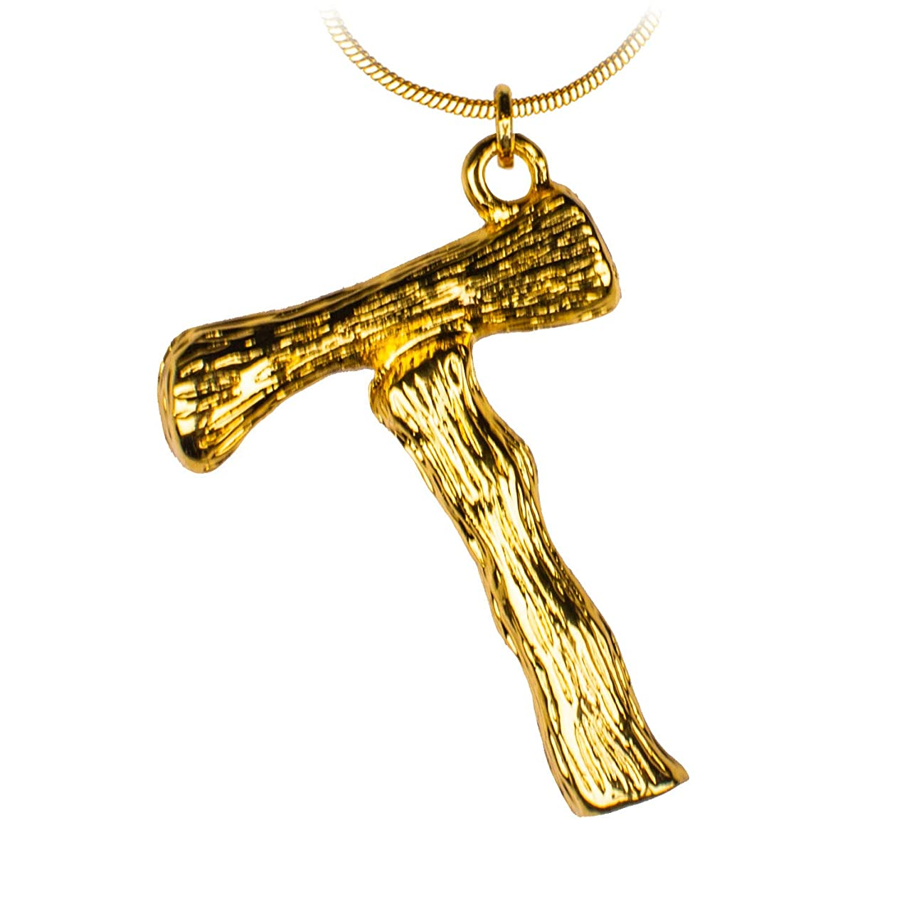 ANAKIKI 26 Initial Letters Alphabet Charm Bamboo Pendant Necklace 18k Gold Plated Snake Chain Personalized Gifts for Women