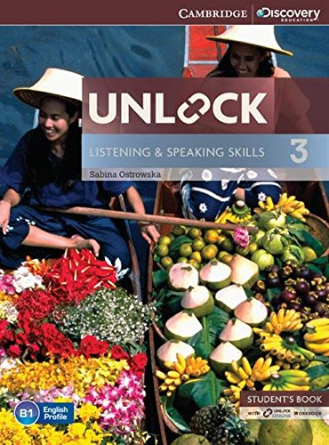 Unlock 3 Listening and Speaking Skills Student's Book and Online Workbook [Lingua inglese]