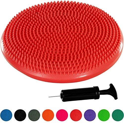 Movit Ballsitzkissen »Dynamic SEAT« inkl. Pumpe, schadstoffgeprüft und phthalatfrei, 33 cm, rot