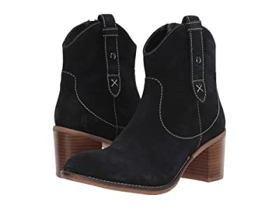 Hush Puppies Hannah Mid Boot (Black Suede) Women