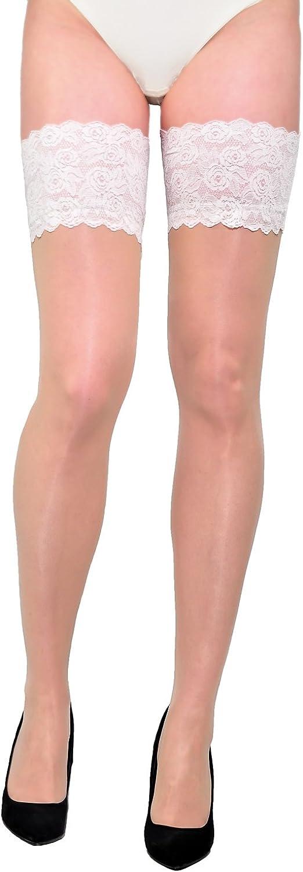 Gabriella Stockings Thigh High Sheer 20 Den Women Patterned Plain Everyday
