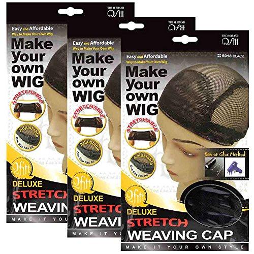 Top wig cap adjustable straps for 2021
