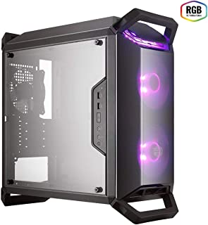 Cooler Master MasterBox Q300P – RGB mATX Mini Tower Case for Portable Gaming with Full Side Panel Display, Clean Routing, ...