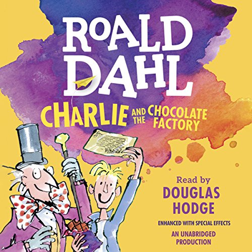 Charlie and the Chocolate Factory audiobook cover art