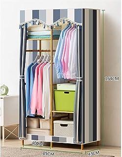 Penderies repliables Armoire Grande Chambre Portable Vêtements Meubles Closet non-tissé Armoire pliante Tissu de stockage ...