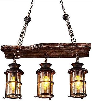Lámpara de iluminación de techo vintage Lámpara colgante ...